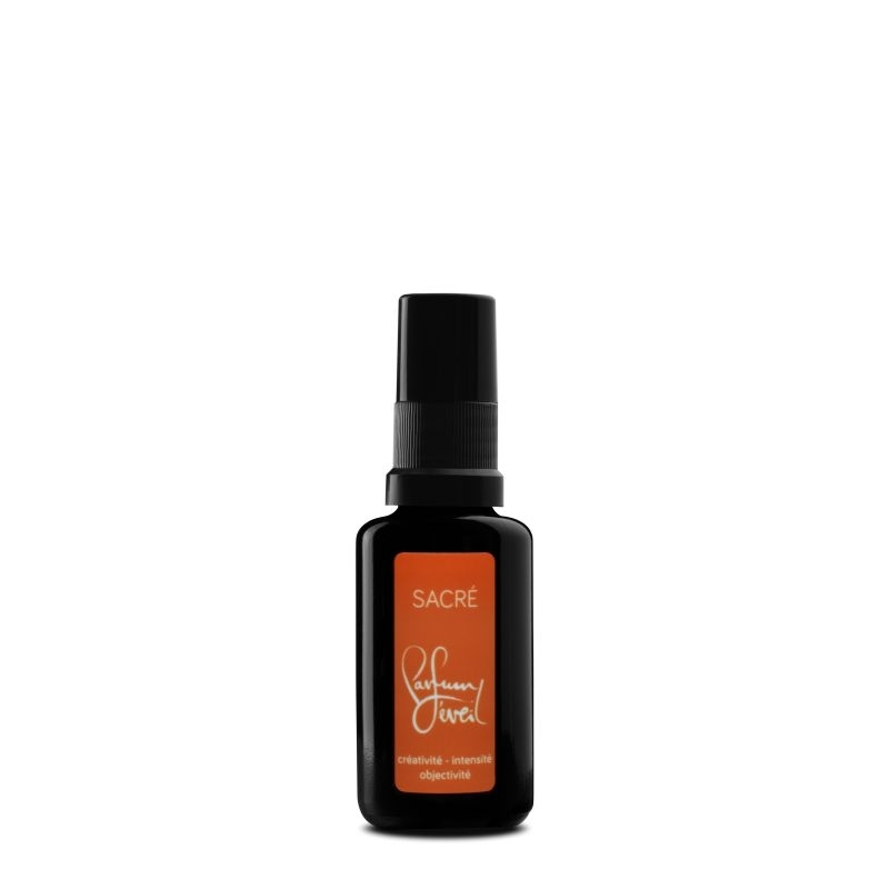 parfum chakra sacre 30ml, creativite intensite objectivite, parfum eveil